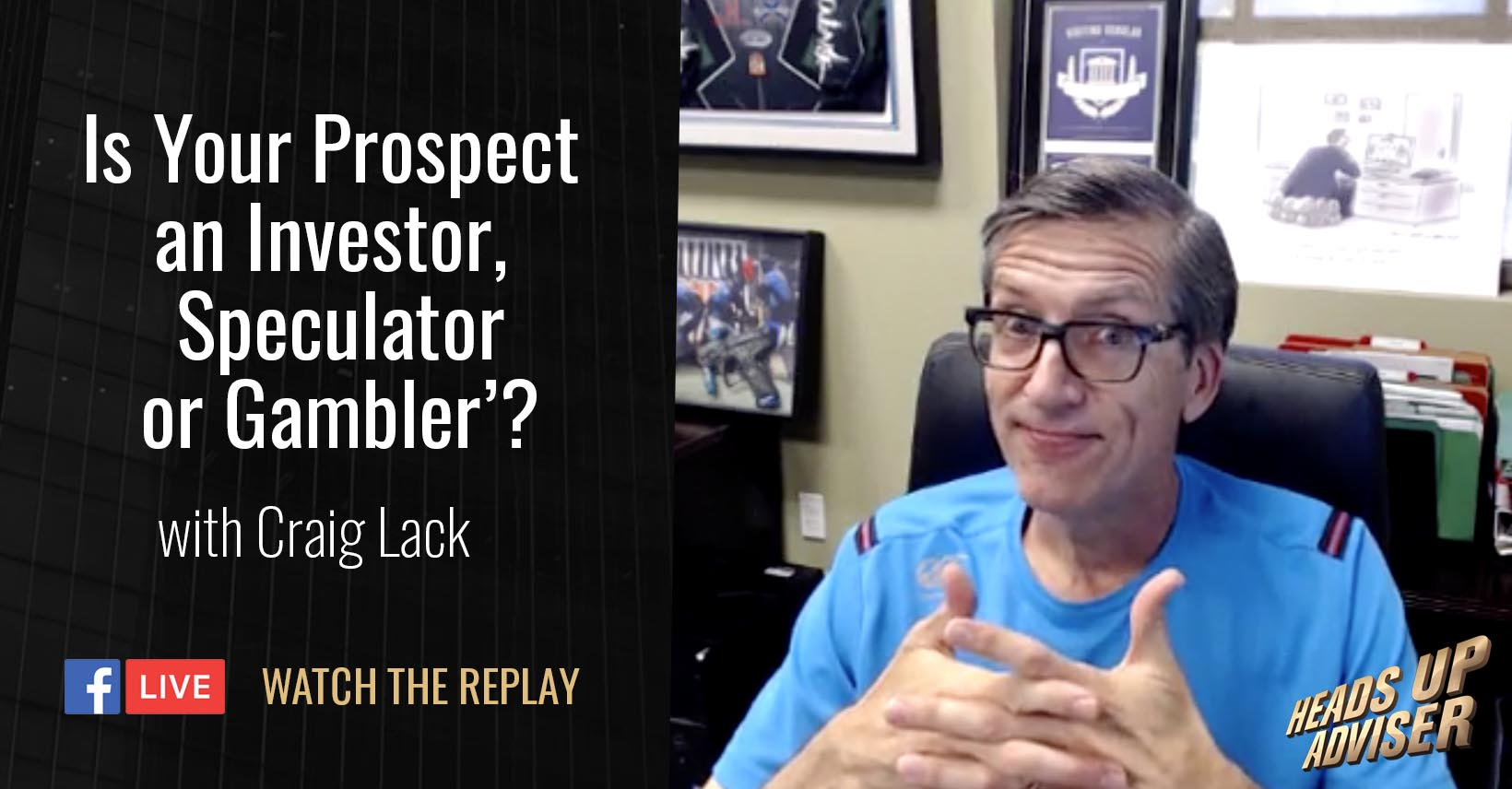 Is Your Prospect an Investor,  Speculator, or Gambler?